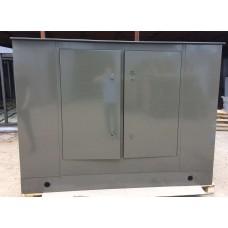 Антивандальный термошкаф 1600х2400х800 34U трехсекционный утепленный термоконтейнер с климат-контролем: отоплением, опционально - вентиляцией либо кондиционером