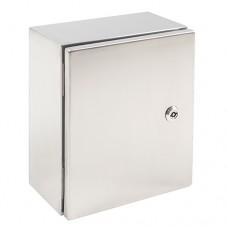 Термошкаф из нержавеющей стали 300х250х150 утепленный с отоплением, для улицы и агрессивных сред.
