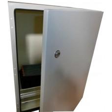 Термошкаф стальной 1000х650х280 уличный с обогревом, утеплением, недорогой