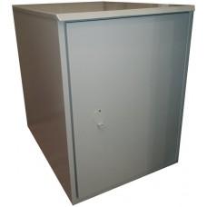 Антивандальный термошкаф 800х600х800 16U (термосейф) утепленный с обогревом, вентиляцией/кондиционером