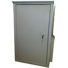 Антивандальный термошкаф 1000х600х600 21U утепленный с климат-контролем: отоплением, опционально - вентиляцией либо кондиционером