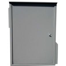 Антивандальный термошкаф 1000х800х600 21U утепленный с автоматическим отоплением, опционально - вентиляция/кондиционер