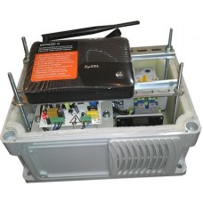 Всепогодный отказоустойчивый маршрутизатор 5 х WAN/LAN, 2 х USB 3G/4G, Wi-Fi, от -45 до +50 град., с ИБП 12В/7Ач