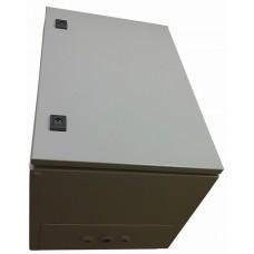 Термошкаф 600х400х400 стальной утепленный обогреваемый IP66