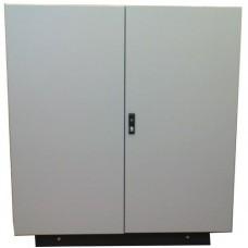 Термошкаф 1000х1000х300 двухдверный, утепленный с обогревом, вентиляцией*, металлический уличный всепогодный термошкаф