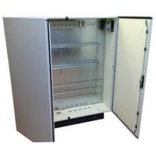 Термошкаф 1200х1000х300 с вентиляцией* и обогревом, металлический уличный навесной термокожух