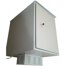 Антивандальный термошкаф 800х800х800 16U (термосейф) с климат-контролем: термоэлектрическим кондиционером