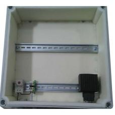 Термоконтейнер 400х400х130 ENSTO пластик, утепленный, с отоплением и вентиляцией*, -45..+50