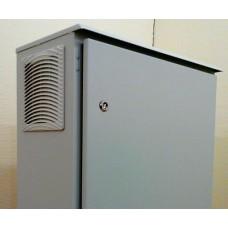 Термошкаф 800х600х300 с обогревом и вентиляцией уличный