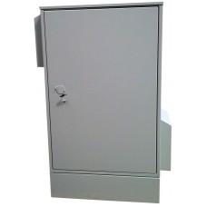 Антивандальный термошкаф 1200х800х800 24U утепленный с обогревом УХЛ1