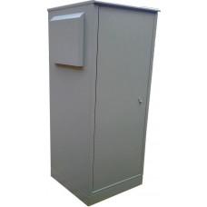 Антивандальный термошкаф 1400х600х800 30U с автоматическим климат-контролем уличный