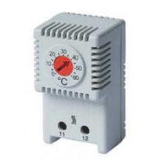 Термостат, диапазон температур для NC контакта: 0-60°C; для обогревателя